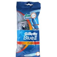 Одноразовый станок «Gillette» Blue II Plus, 5 шт