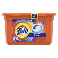 Гель для стирки в капсулах Tide Color, 12 шт по 24,8 г
