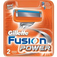 Кассеты для бритья «Gillette» Fusion Power, 2 шт